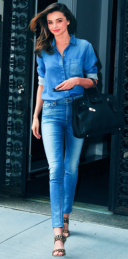 Miranda Kerr in 7 For All Mankind